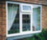 UPVC windows with leaded lights