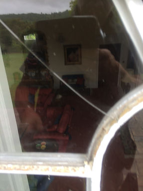 Replacing broken glass