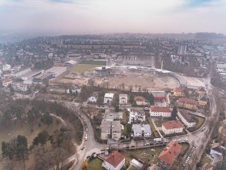 """""""Joytemple"""" In Linz ... wenn ein Stadion weichen muß ..."""