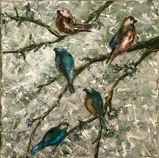 Carolyn Campbell, A Fine Flock of Friends