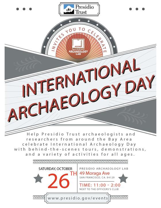 International Archaeology Day - San Francisco Presidio