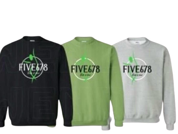 Five678 Crewneck Logo Tee