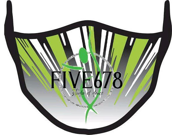 Five678 Logo Face Mask