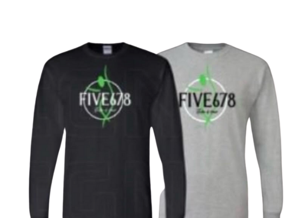 Five678 Long Sleeve Logo Tee