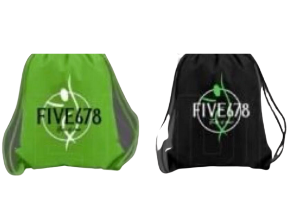 Five678 Logo Drawstring Bag