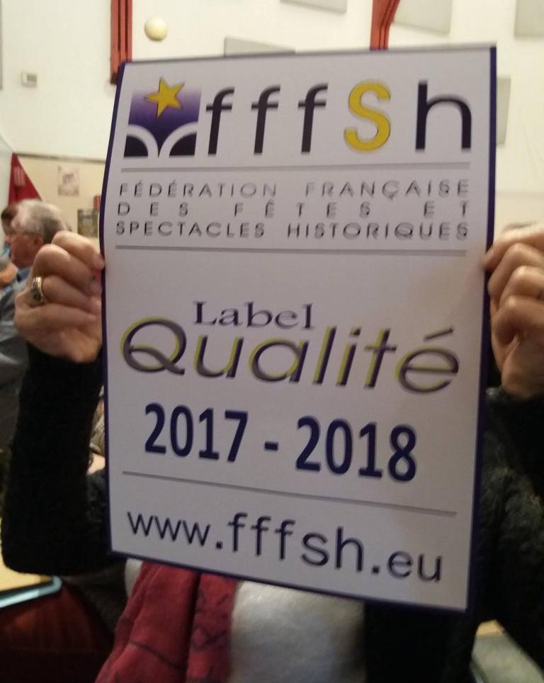 2017 - Label Qualité