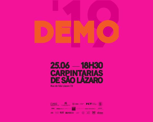 Cartaz DEMO 2019, Carpintarias de São Lázaro - DEMO 2019 Poster, Carpintarias de São Lázaro
