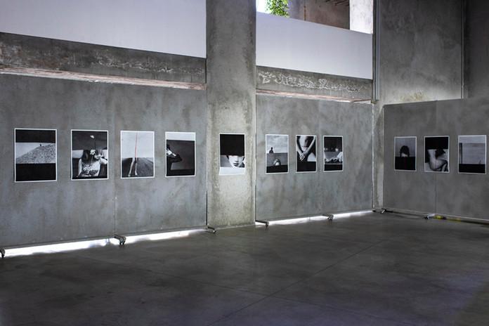 """Vista exposição """"Novas Visões"""", IMAGO, Carpintarias de São Lázaro. - Exhibition Tour """"Novas Visões"""", IMAGO, Carpintarias de São Lázaro  © Bruno Lança, 2019"""