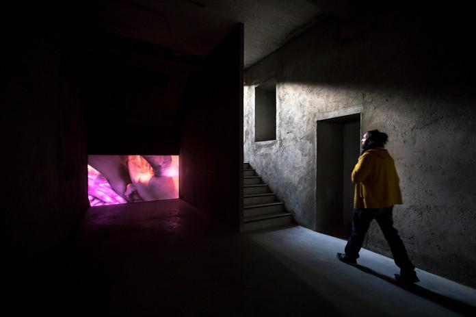 AiR Carpintarias 2018: Open Studio, Miriam Simun, 2019. © Vasco Vilhena, 2019.