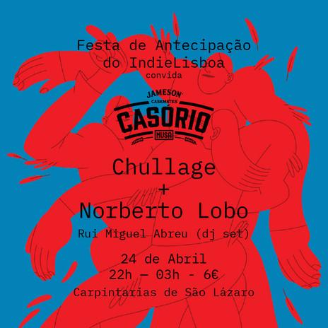 Cartaz Festa de Antecipação do IndieLisboa, 2019 - Poster IndieLisboa Anticipation Party, 2019