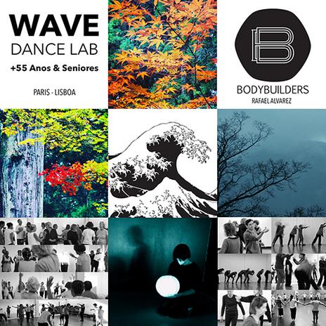 Cartaz WAVE DANCE LAB +55, Carpintarias de São Lázaro, 2019 - WAVE DANCE LAB +55 Poster, Carpintarias de São Lázaro