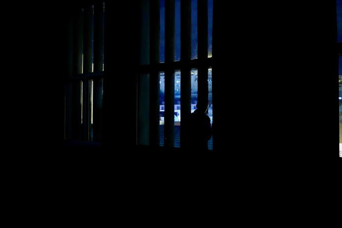 Vistas da performance nas CSL, Piso -01.  - Part of the performance, CSL, Piso -01.  © Miguel Gaspar, 2019