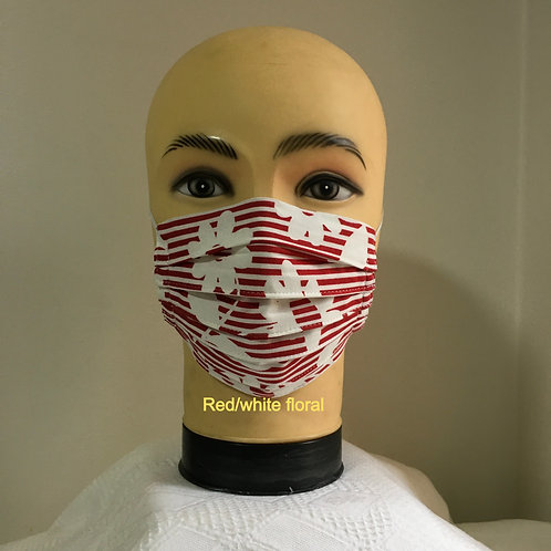 Triple Layers Side Pleated Mask