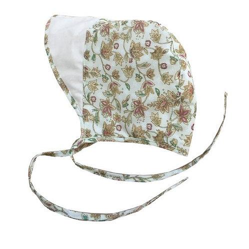 Victoria Reversible Girls Bonnet