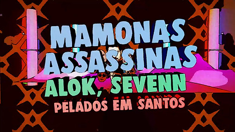 PELADOS EM SANTOS - LYRIC VIDEO (0;01;04