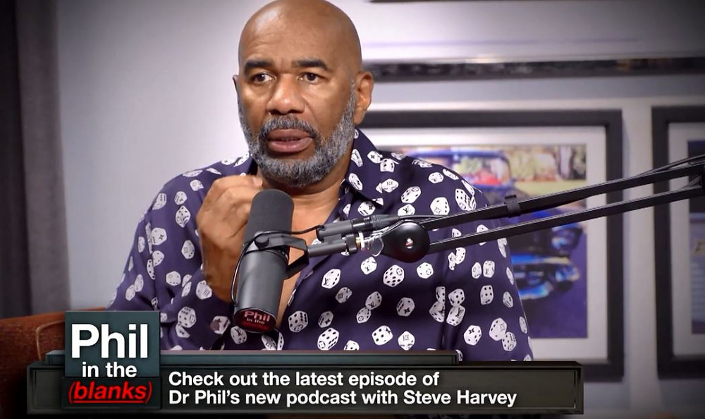 Steve Harvey and NOT his mom's cake