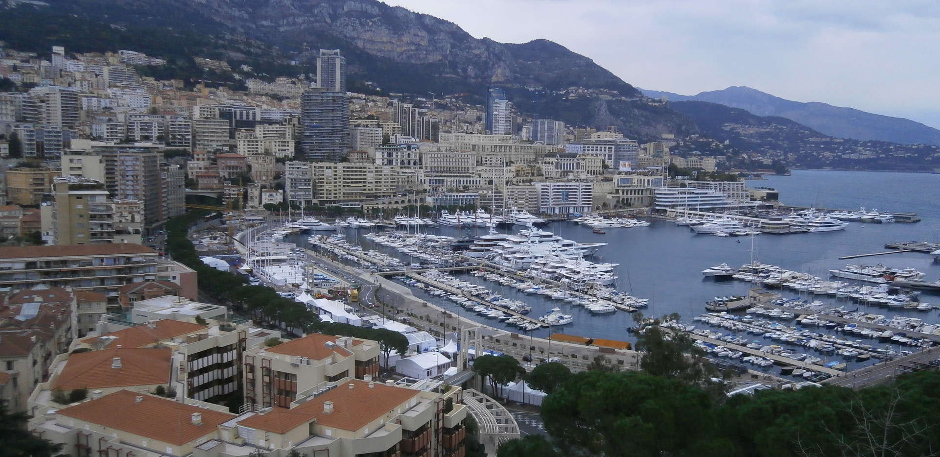 View of Monaco Port from the Prince's Palace