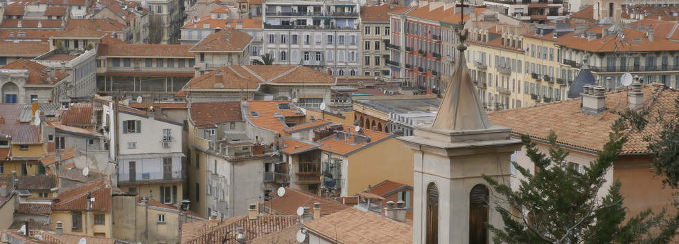 Red roofs of the old town (Nice Vieille Ville)
