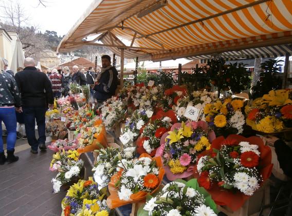Marché aux Fleurs, Cours Saleya, Nice