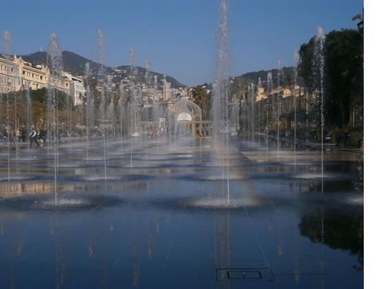 Promenade du Paillon, Place Massena, Nice