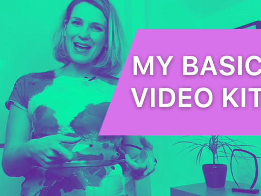 Be better over video: I share my basic at home video kit