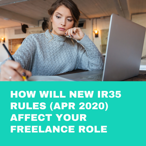 How will new IR35 rules (Apr 2020) affect your freelance role