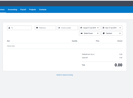 Check out the fast features in Xero's new sales invoicing
