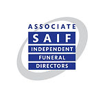 Associate SAIF Indepenent Funeral Directors Logo  | Canfly Marketing