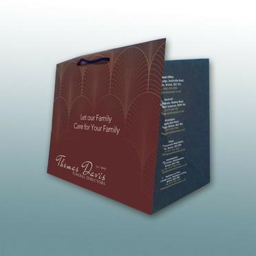 BEspoke printed Casket Presentation Bag by Canfly Marketing