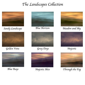 The Landscapes Collection for Web Store.