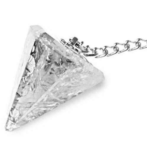 Péndulo de Cristal de Roca