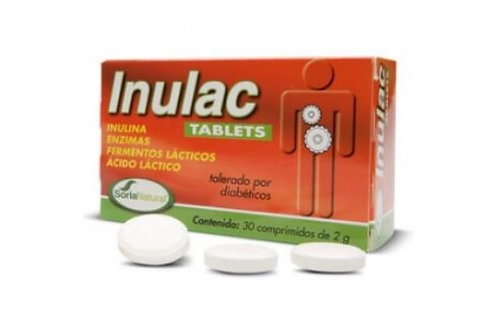 INULAC TABLETS SORIA NATURAL 30 comprimidos