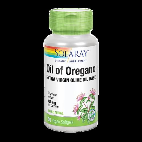 Oil of Oregano.150 mg.60 cápsulas.