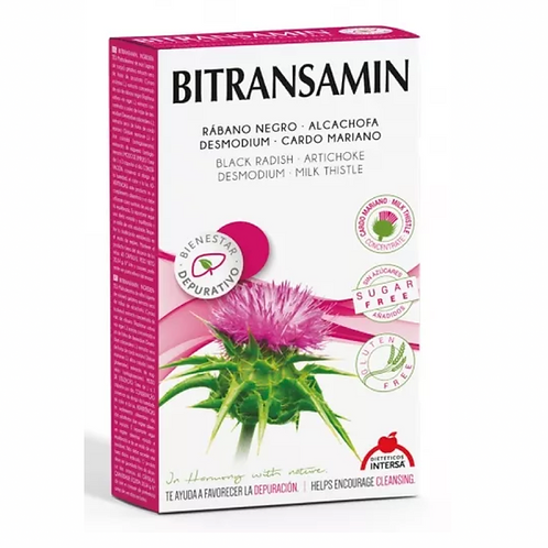 Bitransamin 60 capsulas