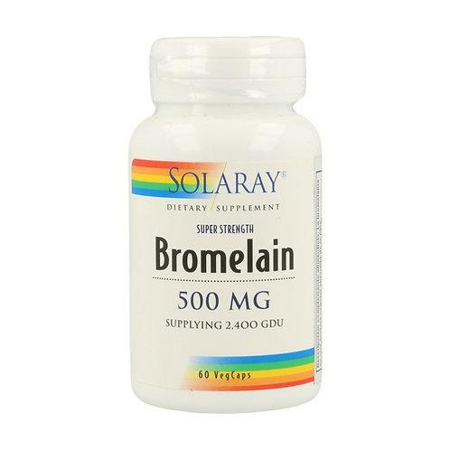 Bromelain 500 mg-60 cápsulas