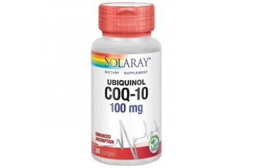 Ubiquinol CoQ10 100 mg 30 perlas