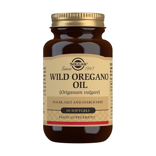 Wild Oregano Oil, aceite de oregano silvestre,60 cápsulas.