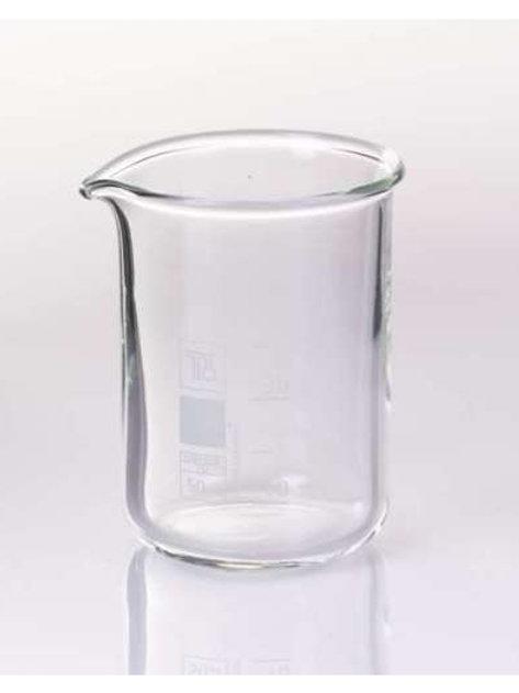Vaso precipitado medidor de vidrio,50ml