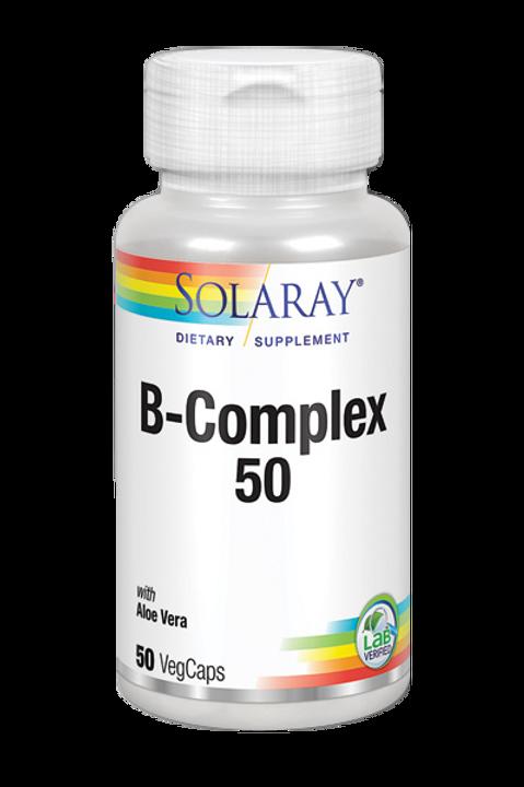 B Complex 50 SOLARAY