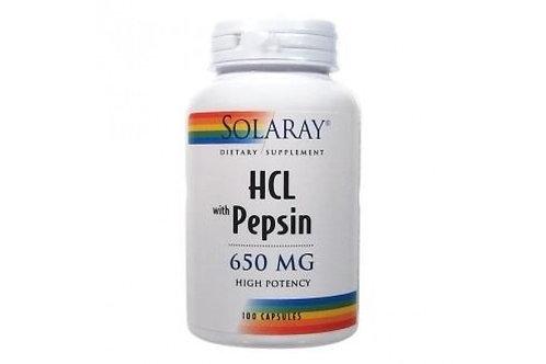 HCL Pepsin SOLARAY