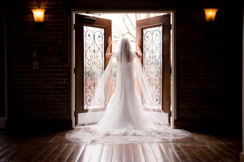 bridal portraits Kernersville