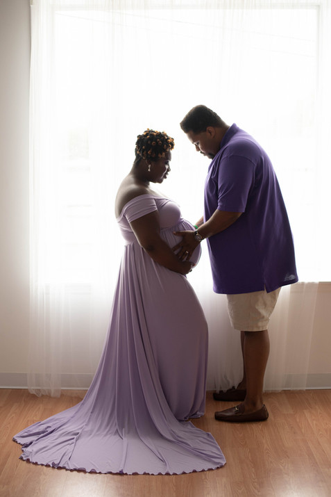 maternity photography Winston-Salem