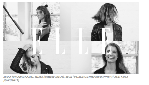 Elle Australia Shoot