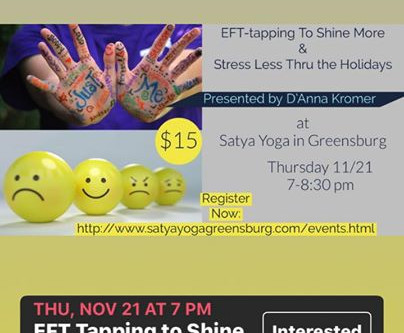 She's My Health Coach presents a Yoga Soul Workshop-Shine More and Stress Less