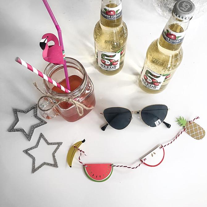 summer cider cocktails