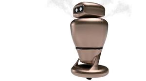 El modelo Disinfection Robot de Macco es capaz de desinfectar capaz de cubrir una superficie de interior de hasta 800 m2 en 65 minutos de forma totalmente autónoma.