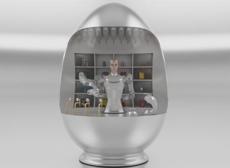 El robot camarero KIME estará en La Nave de Madrid