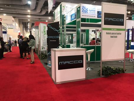 MACCO Robotics participa en el FoodTech Summit & Expo en México