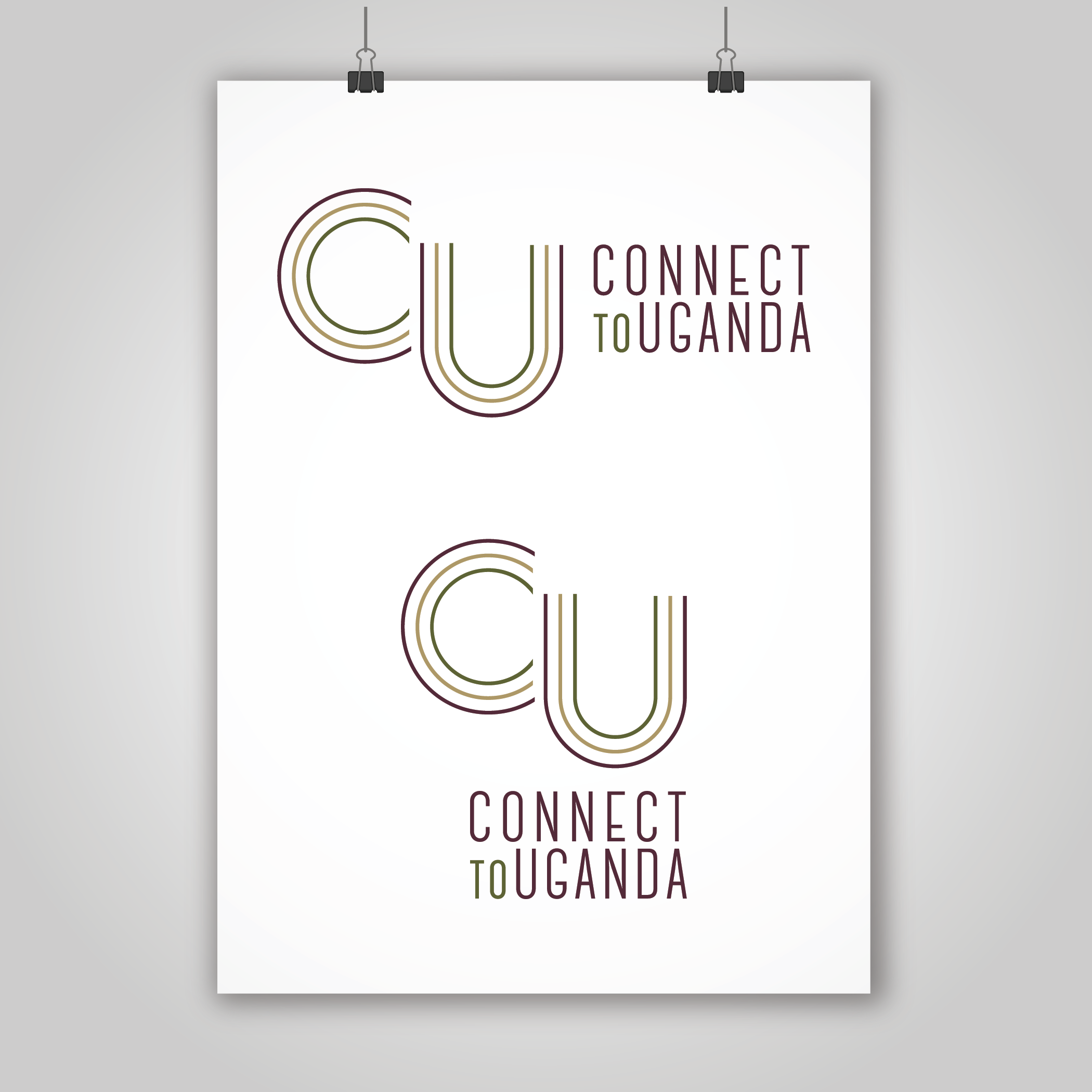 Connect To Uganda Logos