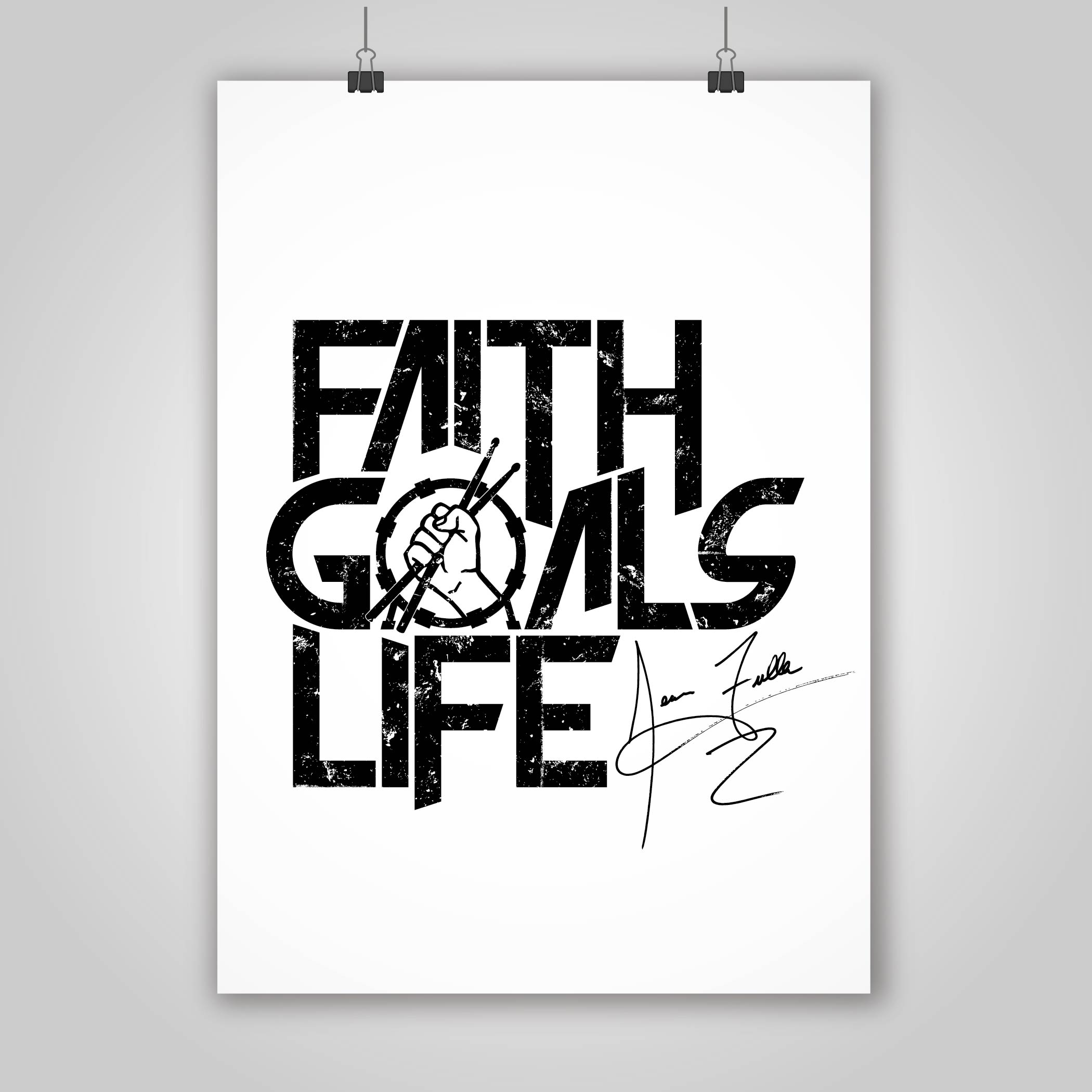 Sean Fuller's Faith Goals Life Logo